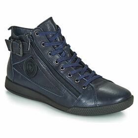 Pataugas  PALME  women's Shoes (High-top Trainers) in Blue