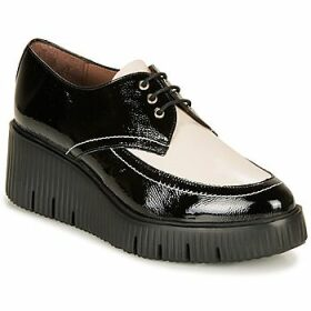 Wonders  E6204-LACK-NEGRO-MILK  women's Casual Shoes in Black