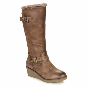 Refresh  69200-TAUPE  women's High Boots in Grey