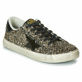 Le Temps des Cerises  CITY  women's Shoes (Trainers) in Gold