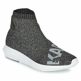 Karl Lagerfeld  VITESSE LEGERE KNIT KARL PRT  women's Shoes (High-top Trainers) in Grey