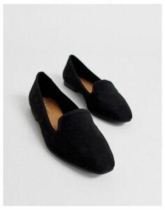 ASOS DESIGN Lychee ballet flat in black