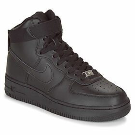 Nike  AIR FORCE 1 HIGH W  women's Shoes (High-top Trainers) in Black