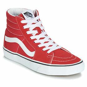 Vans  SK8-HI  women's Shoes (High-top Trainers) in Red