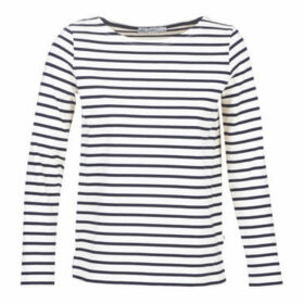 Petit Bateau  CLAUDIE  women's Sweatshirt in White