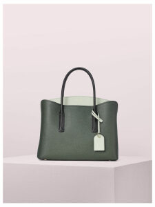 Margaux Large Satchel - Deep Evergreen Multi - One Size