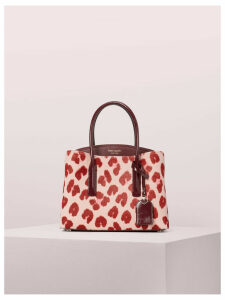 Margaux Haircalf Medium Satchel - Pink Multi - One Size