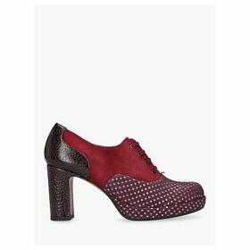Chie Mihara Joop Block Heel Shoe Boot, Bright Red