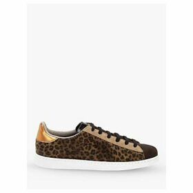 Victoria Shoes Tenis Animal Print Trainers, Brown
