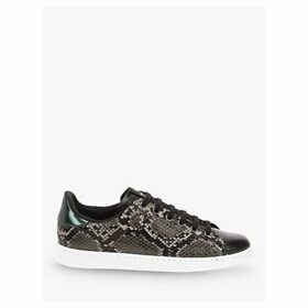 Victoria Shoes Tenis Serpiente Snake Print Trainers, Grey