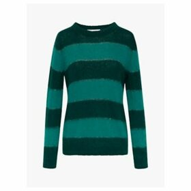 Gerard Darel Shiloh Stripe Jumper, Green