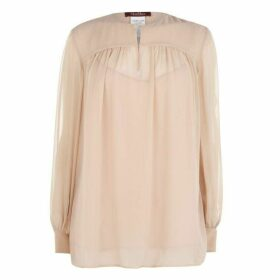 Max Mara Studio Pool Tie Blouse
