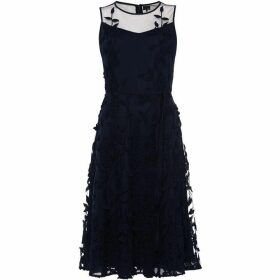 Phase Eight Kenzie Embroidered Fit & Flare Dress