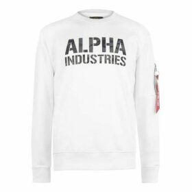 Alpha Industries Camo Print Sweater