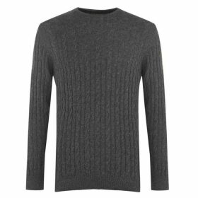Barbour Lifestyle Cable Crewneck Sweater