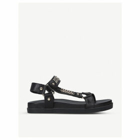 Kostello chain-embellished leather sandals