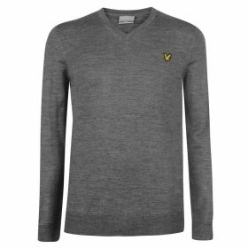 Lyle and Scott V Neck Pullover Mens