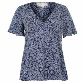 MICHAEL Michael Kors Painterley Reef Top