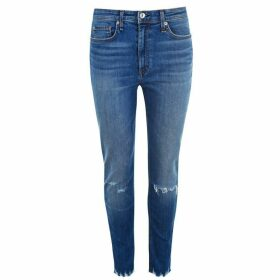 Rag and Bone Nina High Rise Ankle Grazer Jeans