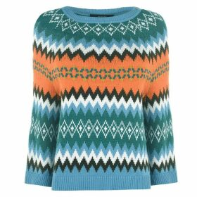 Max Mara Weekend Fairisle Knit Jumper