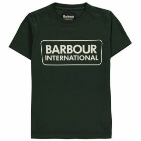 Barbour International B.Int BI Logo T Jn00