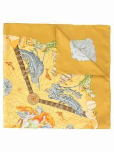 Hermès Pre-Owned printed scarf - Yellow