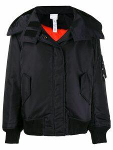 Reebok x Victoria Beckham oversized hooded jacket - Blue