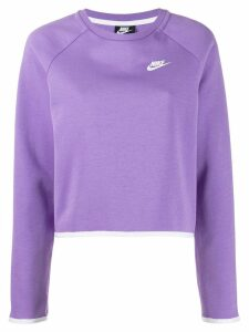 Nike Nike Sportswear Tech Fleece Sweater - PURPLE
