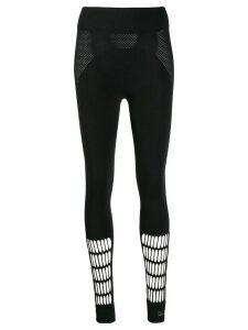 adidas by Stella McCartney Warp knit leggings - Black