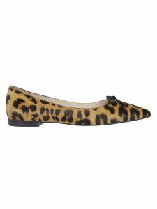 Prada Leopard Print Loafers