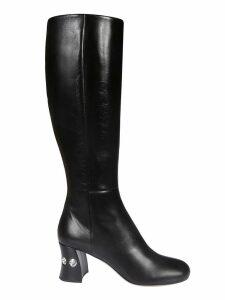 Miu Miu Embellished Boots