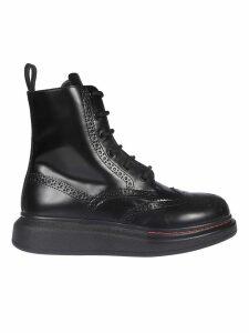 Alexander McQueen New Liquid Brushed Hi-top Sneakers