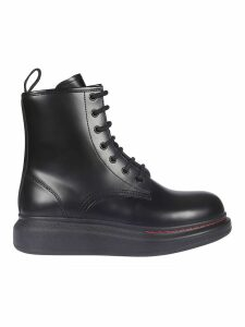 Alexander McQueen New Liquid Brushed Hi-top Sneakers