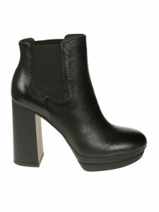 Hogan High Heel Ankle Boots