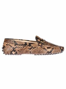 Tods Snake Effect Loafers