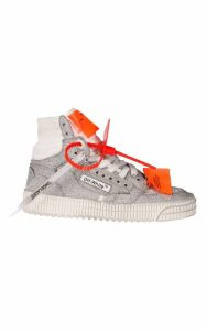 Off-White Glitter Off Court Hi-top Sneakers