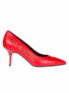 Love Moschino Logo Pumps
