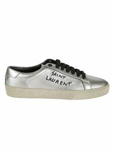 Saint Laurent Logo Sneakers