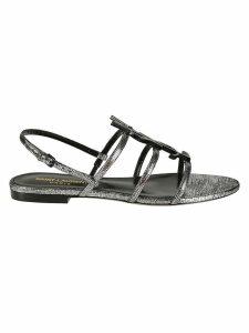 Saint Laurent Strappy Flat Sandals