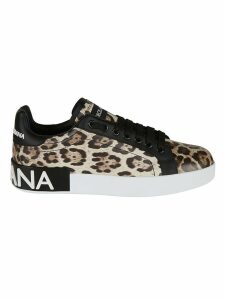 Dolce & Gabbana Animal Print Sneakers