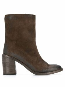 Marsèll block heel ankle boots - Brown