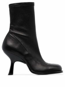 Simon Miller stretch 90mm ankle boots - Black