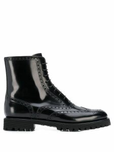 Church's brogue boots - Black