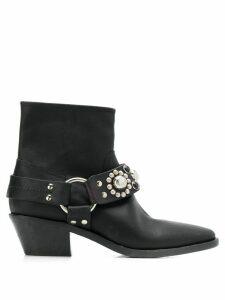 Golden Goose Bretagne ankle boots - Black