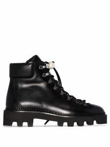 Nicholas Kirkwood Delfi lace-up ankle boots - Black