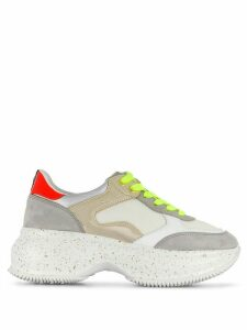 Hogan maxi active sneakers - White
