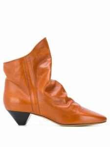 Isabel Marant slouch ankle boots - Brown