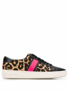 Michael Michael Kors animal print sneakers - Black