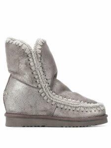 Mou Eskimo metallic boots - Grey