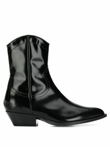 Philosophy Di Lorenzo Serafini patent cowboy boots - Black